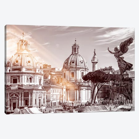 Dolce Vita Rome - Ray of Light Collection - The City of the Italian Angels Canvas Print #PHD381} by Philippe Hugonnard Canvas Art Print