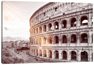 Dolce Vita Rome - Ray of Light Collection - The Colosseum Canvas Art Print