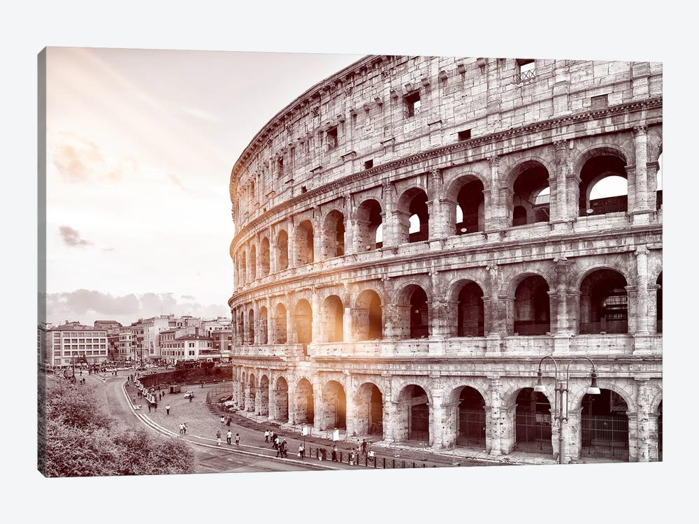 The Colosseum by Philippe Hugonnard 1-piece Canvas Artwork