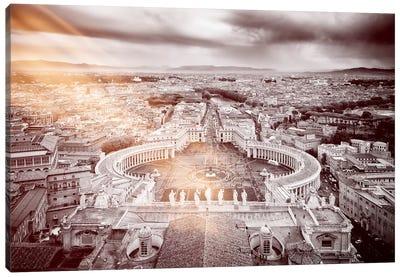 The Vatican City Canvas Art Print