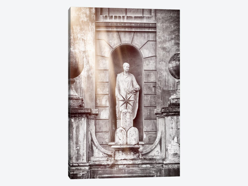 Dolce Vita Rome - Ray of Light Collection - Vatican Statue 1-piece Art Print