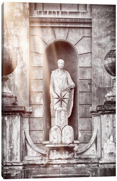 Vatican Statue Canvas Art Print