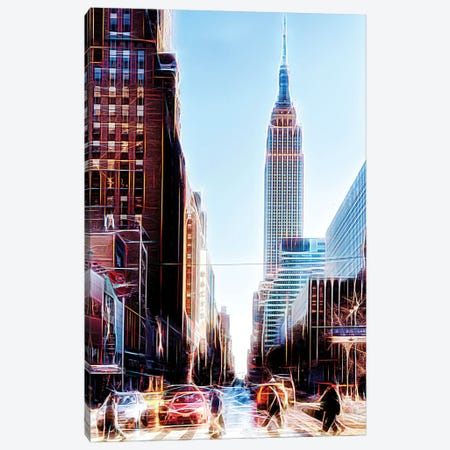 34th Street Canvas Print #PHD386} by Philippe Hugonnard Canvas Wall Art