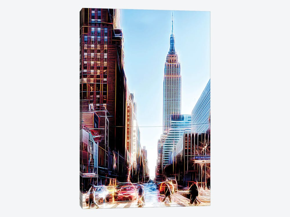 34th Street by Philippe Hugonnard 1-piece Canvas Art