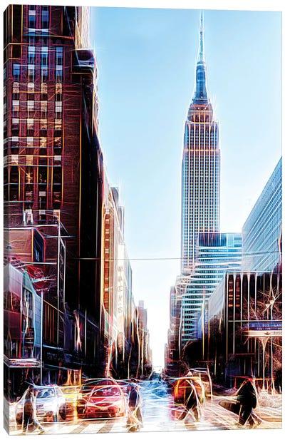 34th Street Canvas Art Print