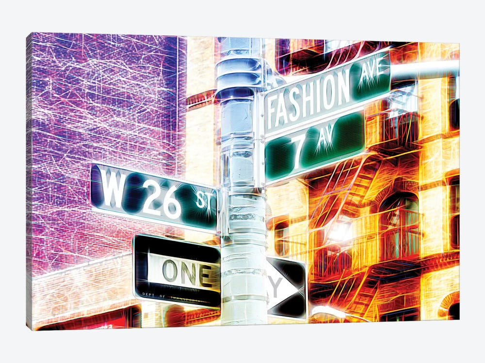 7th Avenue 1-piece Canvas Artwork