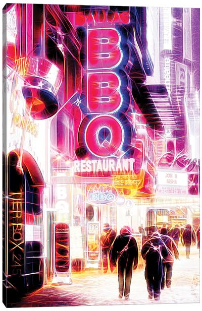 BBQ Canvas Art Print
