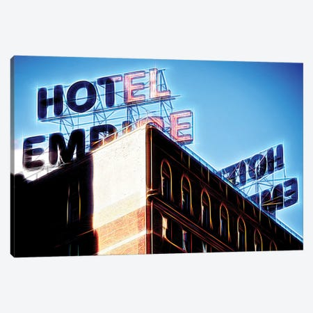 Blue Empire Canvas Print #PHD392} by Philippe Hugonnard Canvas Wall Art