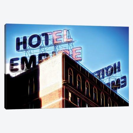 Blue Empire Canvas Print #PHD392} by Philippe Hugonnard Canvas Wall Art