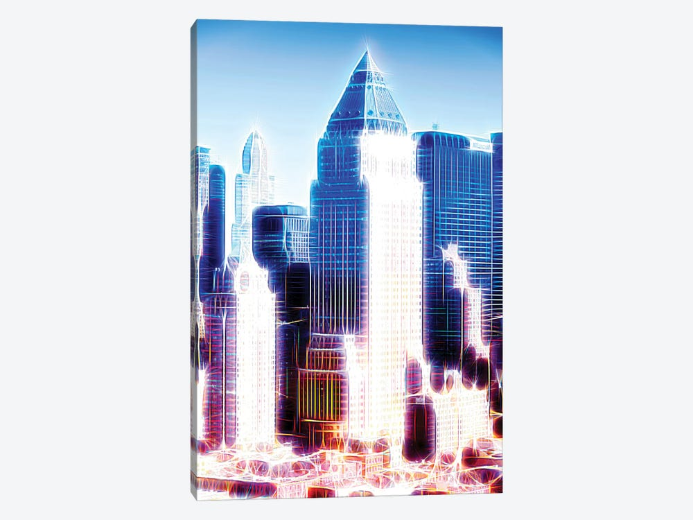 Blue Summit by Philippe Hugonnard 1-piece Canvas Art
