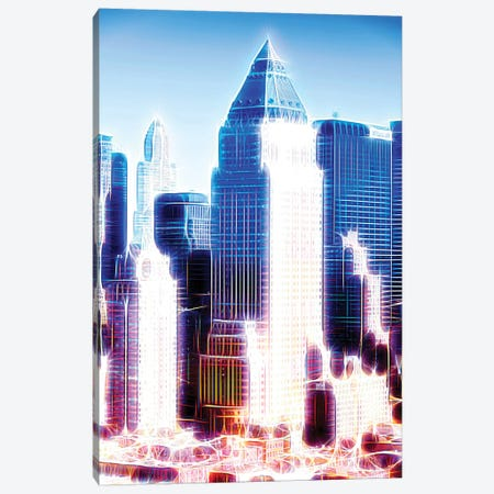 Blue Summit Canvas Print #PHD395} by Philippe Hugonnard Canvas Print