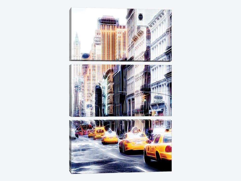 Broadway 401 by Philippe Hugonnard 3-piece Canvas Art Print