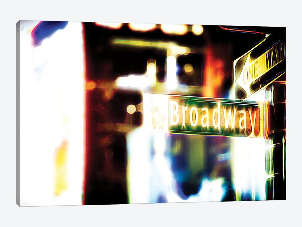 Broadway Sign by Philippe Hugonnard 1-piece Canvas Wall Art