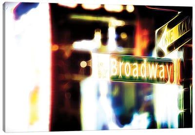 Broadway Sign Canvas Art Print