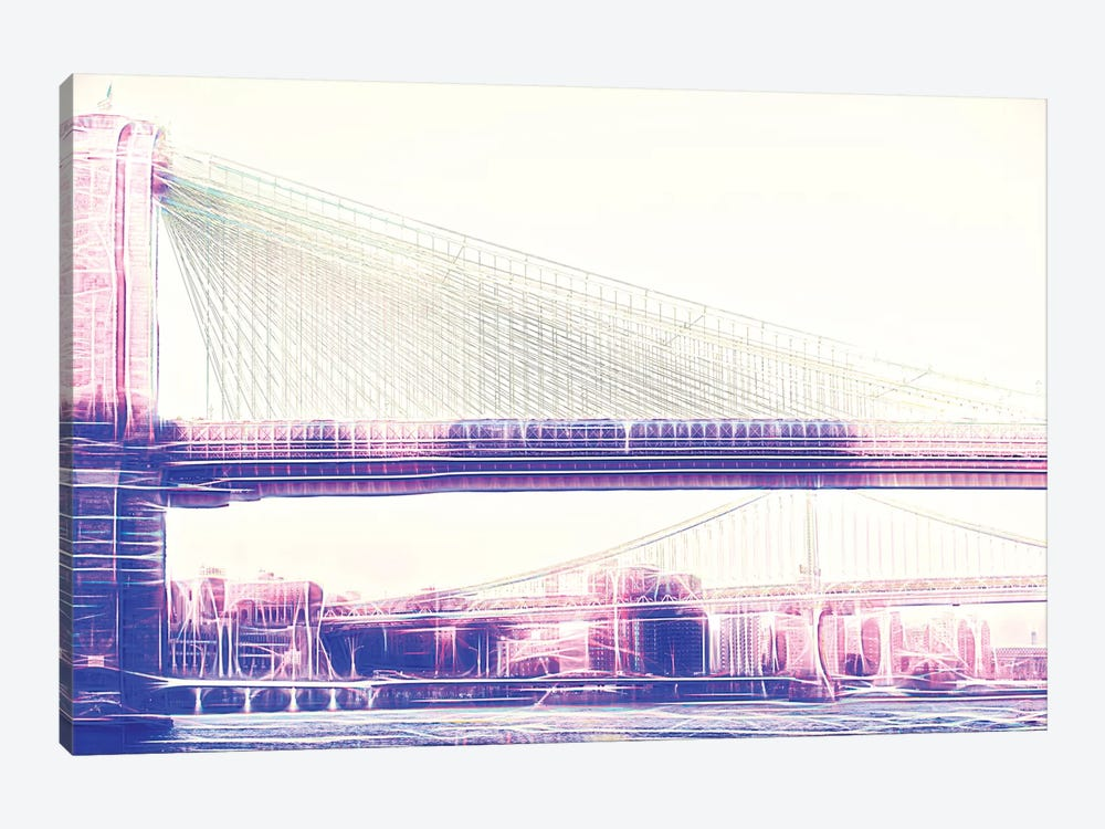 Brooklyn Bridge by Philippe Hugonnard 1-piece Art Print