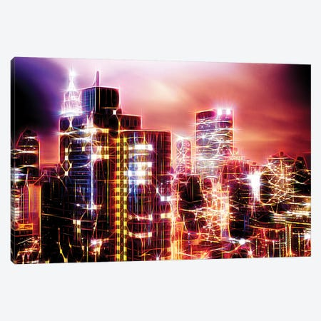 City Of Light Canvas Print #PHD399} by Philippe Hugonnard Canvas Artwork