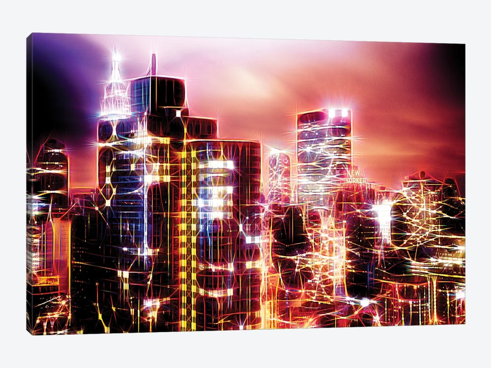 City Of Light by Philippe Hugonnard 1-piece Canvas Art