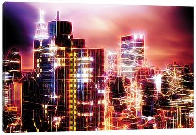 City Of Light Canvas Art Print