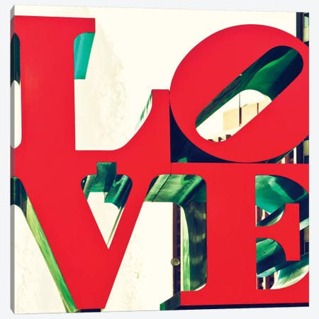 LOVE Canvas Print #PHD39} by Philippe Hugonnard Canvas Art Print