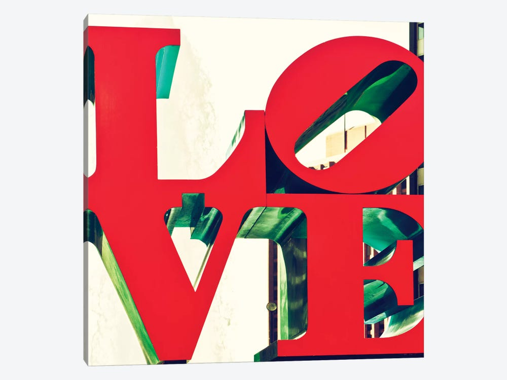 LOVE by Philippe Hugonnard 1-piece Canvas Artwork