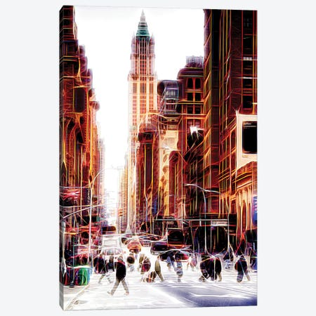 City On The Move Canvas Print #PHD400} by Philippe Hugonnard Canvas Artwork