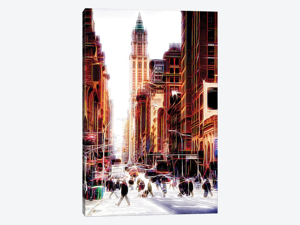 City On The Move by Philippe Hugonnard 1-piece Canvas Art Print