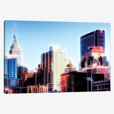 Dream City Canvas Print #PHD405} by Philippe Hugonnard Art Print