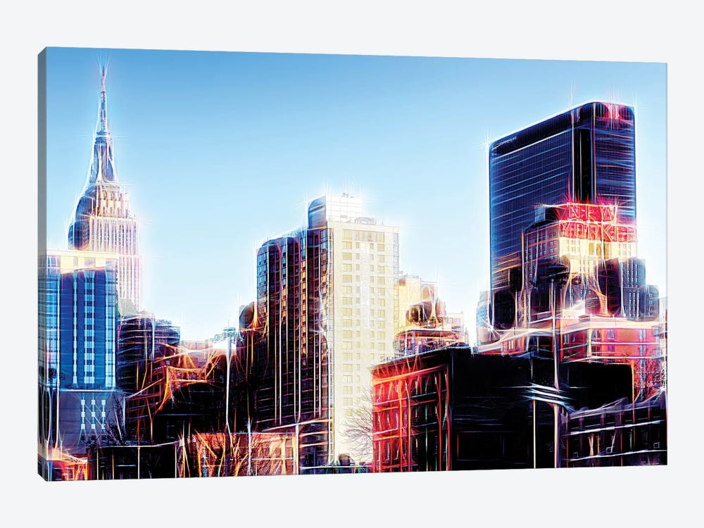 Dream City by Philippe Hugonnard 1-piece Canvas Wall Art