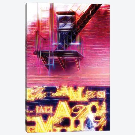 Emergency Stairs Canvas Print #PHD408} by Philippe Hugonnard Canvas Wall Art