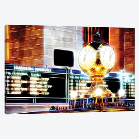 Famous Clock Canvas Print #PHD410} by Philippe Hugonnard Art Print