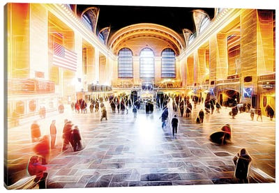 Grand Central Terminal Canvas Art Print