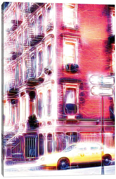 Harlem Electric Canvas Art Print