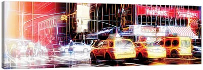 Light Reflection Canvas Art Print