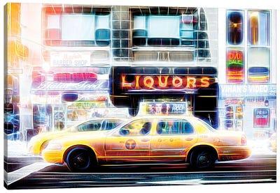 Liquors Taxi Canvas Art Print