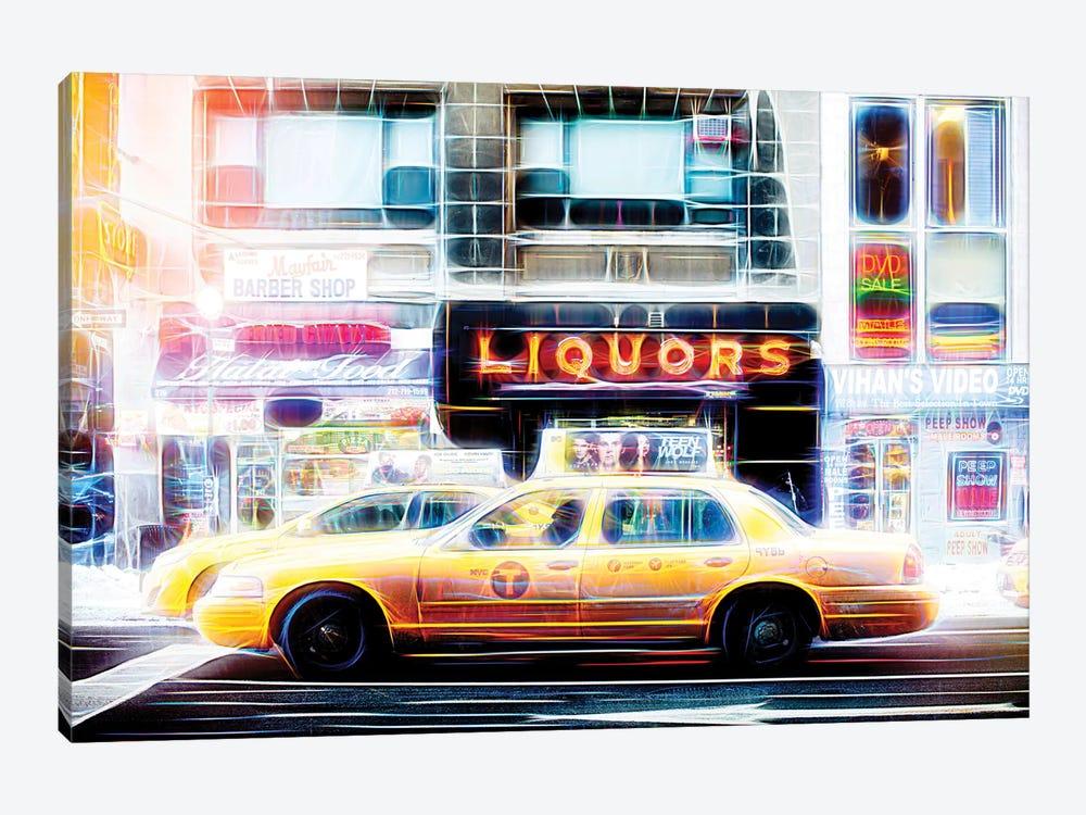 Liquors Taxi by Philippe Hugonnard 1-piece Art Print