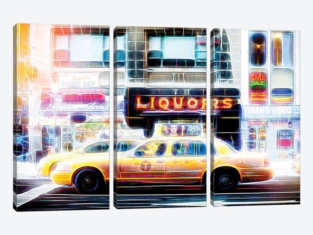 Liquors Taxi by Philippe Hugonnard 3-piece Art Print