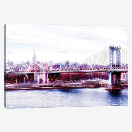 Manhattan Bridge Canvas Print #PHD418} by Philippe Hugonnard Art Print