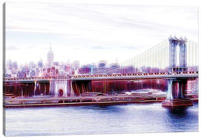Manhattan Bridge Canvas Art Print
