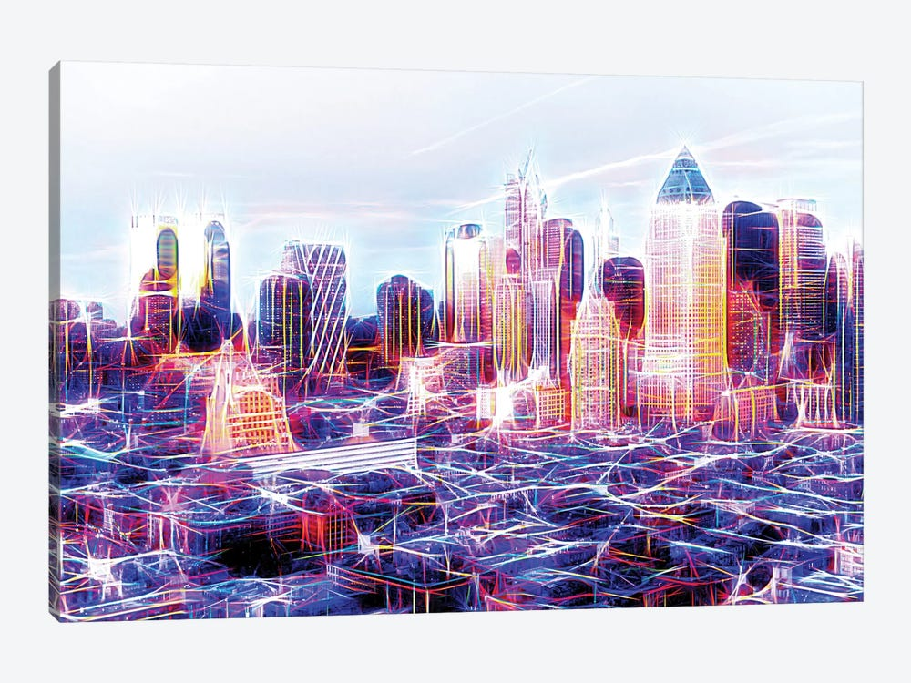 Midtown Electric by Philippe Hugonnard 1-piece Canvas Art Print