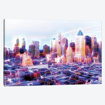 Midtown Electric Canvas Print #PHD419} by Philippe Hugonnard Canvas Print