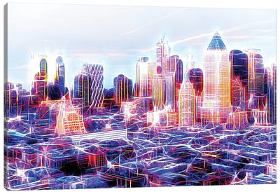 Midtown Electric Canvas Art Print