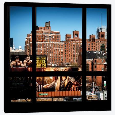 Manhattan Buildings Canvas Print #PHD41} by Philippe Hugonnard Canvas Wall Art