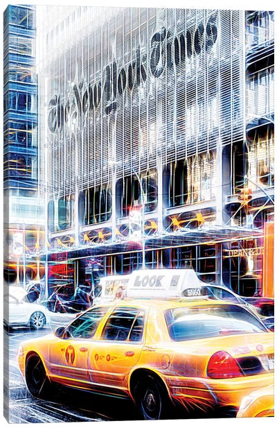 New York Times Canvas Art Print