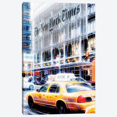 New York Times Canvas Print #PHD420} by Philippe Hugonnard Canvas Artwork