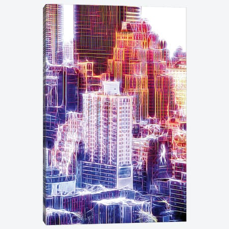 New Yorker Canvas Print #PHD421} by Philippe Hugonnard Canvas Artwork