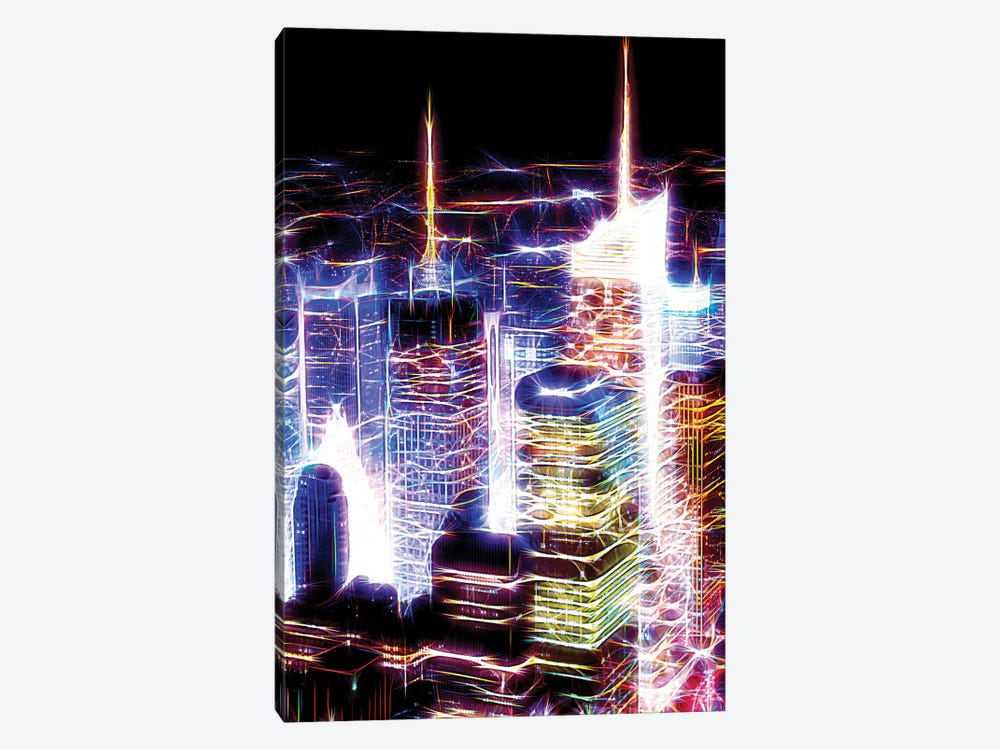 Night Electric Blue by Philippe Hugonnard 1-piece Canvas Print