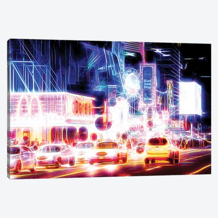 Night Sparkling Canvas Print #PHD423} by Philippe Hugonnard Canvas Artwork