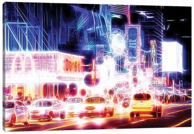Night Sparkling Canvas Art Print