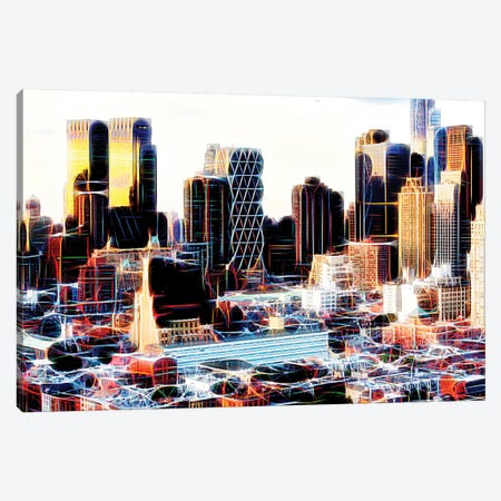NY Midtown Canvas Print #PHD426} by Philippe Hugonnard Canvas Art Print