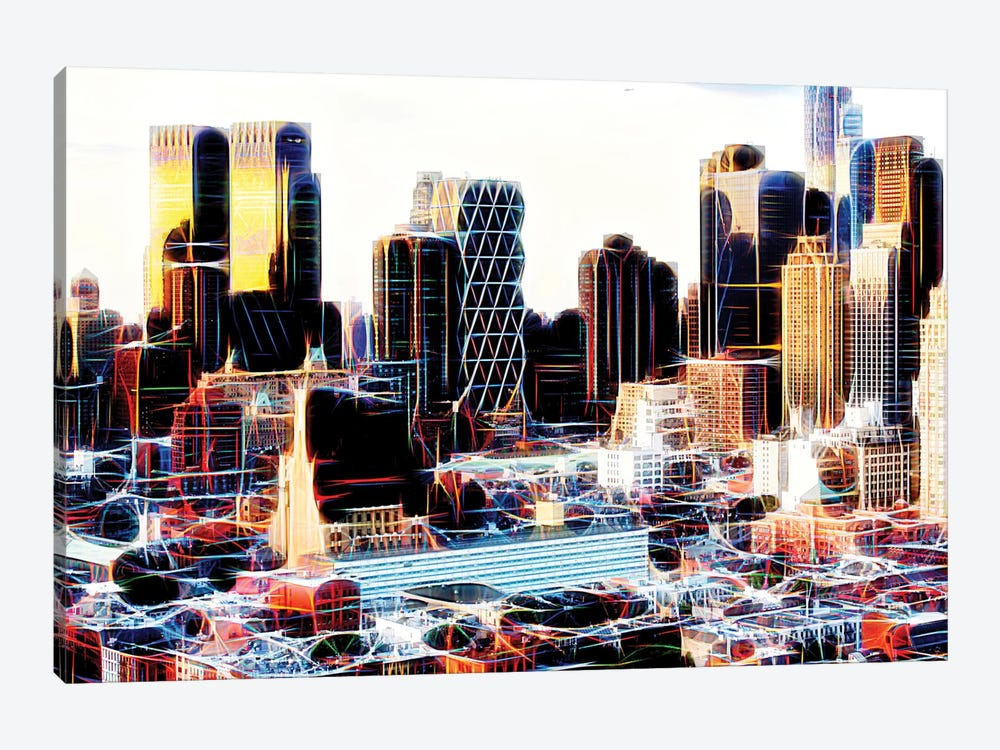 NY Midtown by Philippe Hugonnard 1-piece Canvas Print